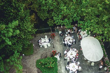 Catering matrimonio castello di torrano piacenza