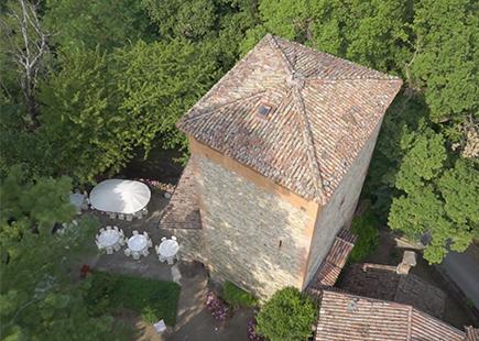 Torre del castello di torrano
